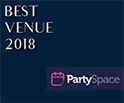 PartySpace Best Venue 2018