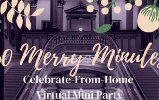 60 Merry Minutes Virtual Party Packages